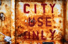 city use only
