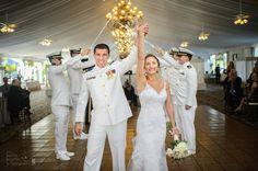 Photo Credit: Chris Carter Photography #MilitaryWedding #Love #Unity