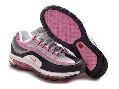 ナイキ Nike ウーメンズ エアマックス 24-7 ホワイト / ブラック / ピンク / ニュートラル グレー Nike0621