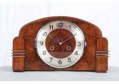 Art Deco Mantel Clock from Junghans, 1930s