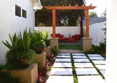 pavers and pagoda (?)