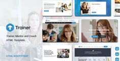 Trainer - Trainer, Mentor and Coach HTML Template - Business Corporate
