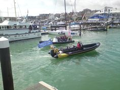 Cowes Week 2014 - a view of the Yacht Haven