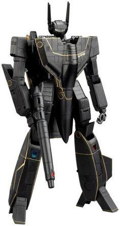 Macross 25th Anniversary Yamato 1/48 Scale Transformable VF1S Black Version