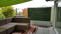 Outdoor Sofa, Outdoor Furniture, Outdoor Decor, Sectional Sofa, World, Home Decor, Artificial Hedges, Faux Plants, Planting