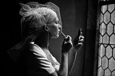 #getting #bride #makeup #art #photojournalism #bride #krakow #poland #photo #wedding