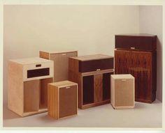 Vintage Audio Klipsh Speakers este diseño es complicado pero el sonido es fantastico no hay nada igual