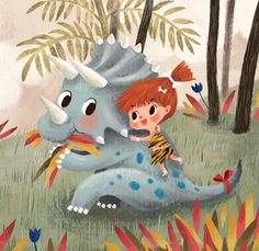 triceratops by chorkung, via Behance