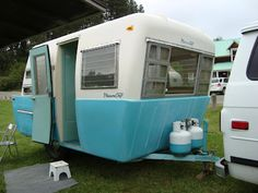 Pleasure Craft Camper, made from fiber glass by Pleasure Craft boat company