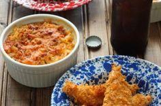 Chicken Tenders and Mac 'n Cheese