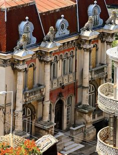 The House With Lions, Constanta, Romania.