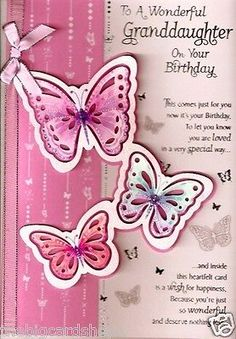 Free granddaughter birthday cards for granddaughters free happy birthday to a special granddaughter quality birthday card bookmarktalkfo