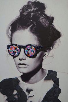 Contemporary mosaic art by Ana Rosales