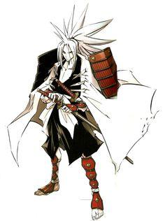 Shaman King est un shōnen manga écrit et dessiné par Hiroyuki Takei. Il a été prépublié entre 1998 et 2004 dans l'hebdomadaire Weekly Shōnen Jump de l'éditeur Shūeisha, et a été compilé en un total de trente-deux tomes. La version française est publiée en intégralité par Kana.  En 2001, le manga a été adapté en série télévisée d'animation de soixante-quatre épisodes réalisé par Seiji Mizushima et diffusé sur la chaîne japonaise TV Tokyo. Amidamaru Hiroyuki Takei