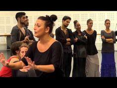 La Lupi en el Ballet Nacional de España (BNE) impartiendo un curso - YouTube