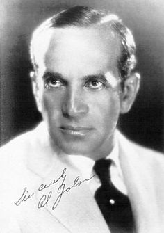 Al Jolson 1886 - 1950 used to walk to the nearby HPH to eat or drink following his many radio show appearances just down the street