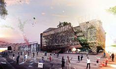 """Découvrez le #pavillon de l' #Italie pour #Expo2015 : une pépinière à idées """"made in Italy"""" pour nourrir le monde de demain ! http://www.novoceram.fr/blog/news/pavillon-italie-expo-2015"""