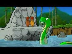 The Green Anaconda Song - funny brain break