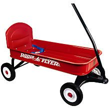 Radio Flyer - Ranger Wagon and thousands more of the very best toys at Fat Brain Toys. The all-steel seamless body with no-scratch edges, real metal axles, extra long metal handle for easy pulling, durable molded wheels, and a .