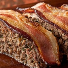 Bacon Cheddar Meatloaf