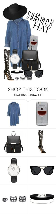 """""""Summer"""" by maddy0428 on Polyvore featuring Reyes, Paul Andrew, Daniel Wellington, Quay, LULUS, Miss Selfridge, Dorfman Pacific and summerhat"""