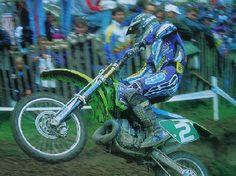 Stefan Everts KAWASAKI 250 campeon del mundo 1995