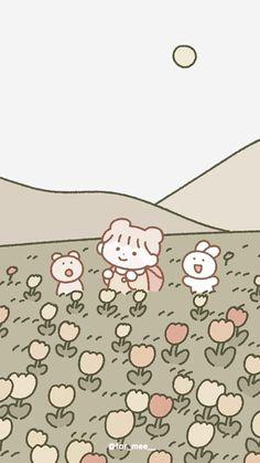 Soft Wallpaper, Cute Anime Wallpaper, Aesthetic Pastel Wallpaper, Wallpaper Iphone Cute, Aesthetic Wallpapers, Wallpapers Kpop, Cute Cartoon Wallpapers, Pretty Wallpapers, Animes Wallpapers