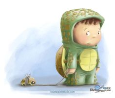 turtle_drawing.jpg (700×598) Cute artist illustrations. Adorable creatures and critter drawings and digital art. Childrens art and character sketches.