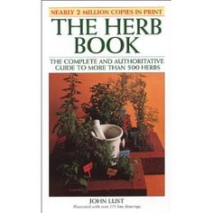 The complete and authoritative guide to more than 500 herbs.   The most complete reference catalog of nature's herbs ever published.