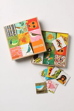 charley harper memory game - I want this for me.
