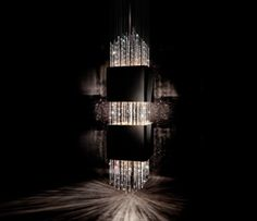 Casino Royale is a sleek and ultra-modern interpretation of the chandelier - a monumental testament to the modern design aesthetic.