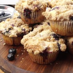 Apple Discover Sour Cream Blueberry Muffins These Sour Cream Blueberry Muffins are bursting with fresh blueberries with the most amazing crumb topping! Blueberry Crumb Muffins, Blue Berry Muffins, Blueberry Sour Cream Muffins Recipe, Ina Garten Blueberry Muffins, Crumb Topping For Muffins, Blueberries Muffins, Homemade Blueberry Muffins, Mini Muffins, Muffin Recipes