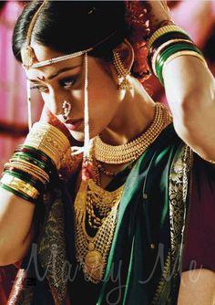 Marathi bride from India