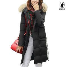 38.63$  Buy now - https://alitems.com/g/1e8d114494b01f4c715516525dc3e8/?i=5&ulp=https%3A%2F%2Fwww.aliexpress.com%2Fitem%2FWinter-Parka-Women-Coats-Brand-2016-Fashion-Slim-Cotton-Padded-Big-Fur-Hooded-Autumn-Jackets-Female%2F32761821696.html - Winter Parka Women Coats Brand 2016 Fashion Slim Cotton-Padded Big Fur Hooded Autumn Jackets Female Wadded Outerwear Winter Coat