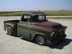 Find used 1956 CHEVROLET TRUCK, RAT ROD TRUCK, HOT ROD TRUCK, SHOP ...