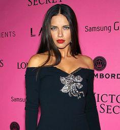 GIRL CRUSH! Adriana Lima. Victorias Secret model. I absolutely love love her hair.