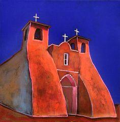 San Francisco de Asis Church Taos NM-Johnathan Harris