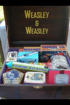 Ah! Fred and George's fireworks in their trunk!