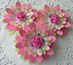 Flores de papel de Pascua