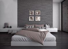 #interiores #diseño #arte #cama #estilo #tendencia #wallpanels