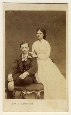 Tsarevich Alexander and Princess Dagmar of Denmark