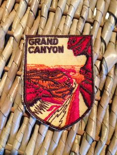 Grand Canyon Vintage Travel Patch by Voyager by HeydayRetroMart, $4.00