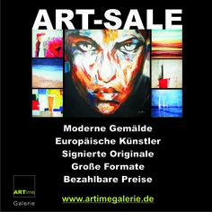 Mit moderner junger Kunst leben. #Kunst zu #erschwinglichen Preisen!