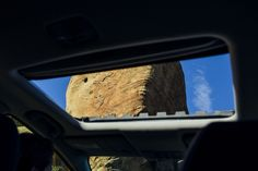 Open your Fit's moonroof for unbelievable views that you and your family may have never seen.    Fit EX model shown.