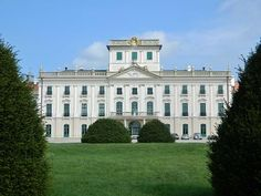 """is a in Fertőd, built by Prince Esterházy. Sometimes called the """"Hungarian Versailles"""", it is Hungary's grandest edifice. Financial Support: Million EUR (ERDF ) EU co-financing rate: www.hu ©""""Esterháza by Texaner /Wikimedia Commons Ancient Architecture, Interior Architecture, Fire Drill, Melanie Martinez, Versailles, Budapest, Croatia, Europe, Tours"""