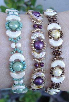 Jolie Beaded Bracelet | AllFreeJewelryMaking.com