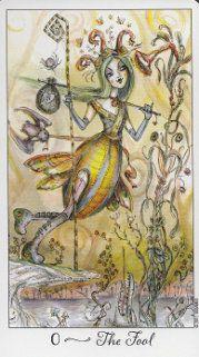 Example card from the Joie de Vivre Tarot deck. DISCOVER MORE: http://www.tarotacademy.org/joie-de-vivre-tarot/