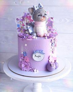 Happy Birthday Cake Girl, Kitten Cake, Girl Birthday Decorations, Cake Blog, Baby Kittens, Girl Cakes, Cake Decorating, Birthday Parties, Instagram