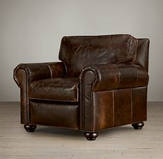 lancaster Leather REcliner @Christy Duren-Moir | Restoration Hardware