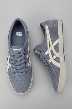 Asics Rotation 77 Chambray Sneaker #UrbanOutfitters